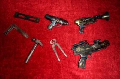 Armas feitas pelos membros da loja Minas Gerias